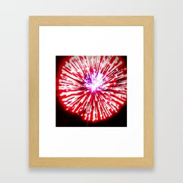 Baby You're a Firework Framed Art Print