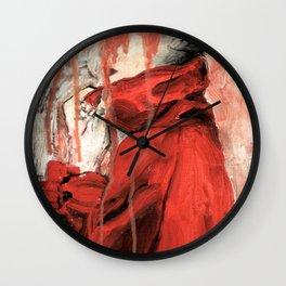 RED COAT Wall Clock