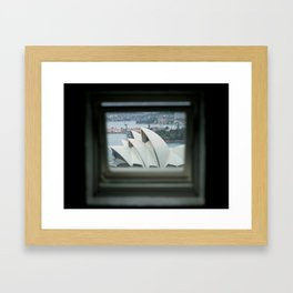 The Sydney Opera House  Framed Art Print