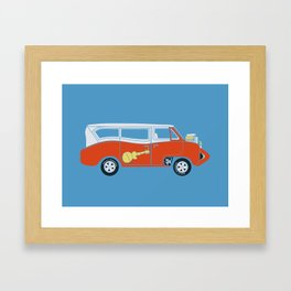 The  Monkeemobile Van Framed Art Print
