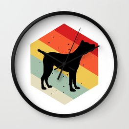 Cane Corso print For Dog Lovers Cute Dog Wall Clock