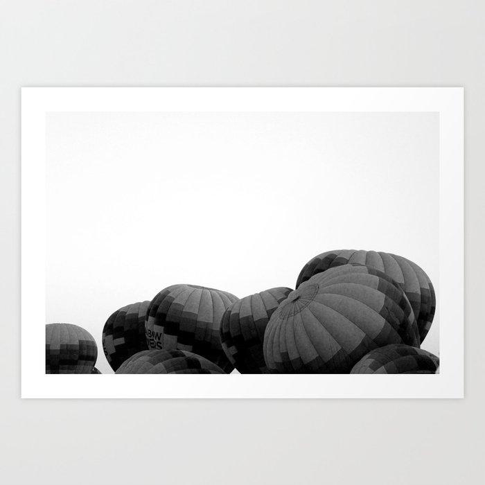 """""""ABQ Balloon Heads"""" Art Print"""