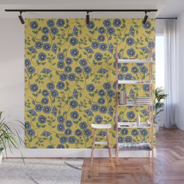 Floral Wisps Wall Mural
