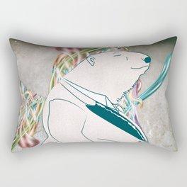Devenir fou Rectangular Pillow