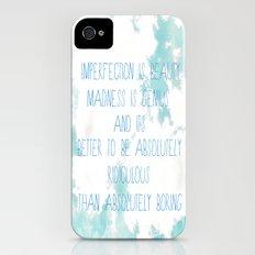 Imperfection iPhone (4, 4s) Slim Case