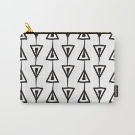 Black and White Minimal Pattern  Carry-All Pouch