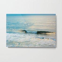 Winter Surfing II Metal Print