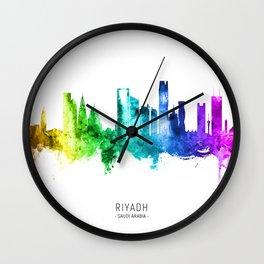 Riyadh Saudi Arabia Skyline Wall Clock