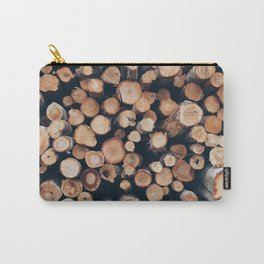 wood stick piles Carry-All Pouch