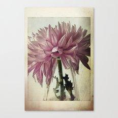 Vintage - Purple Canvas Print
