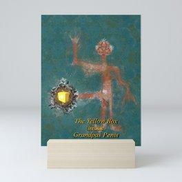 The Yellow Box Inside Grandpas Penis Mini Art Print