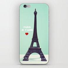 Paris Je T'aime iPhone & iPod Skin