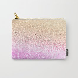 GOLD PINK GLITTER by Monika Strigel Carry-All Pouch