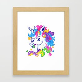 Deadicorn Framed Art Print