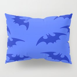 Blue Bats 2 Pillow Sham