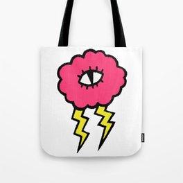 Lily Lightning Tote Bag