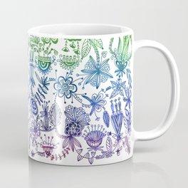 Rainbow Floral Connection Coffee Mug