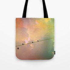 Sizzling Like a Snare Tote Bag