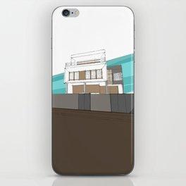 Stilt house iPhone Skin