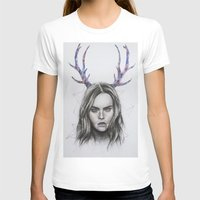 cara delevingne T-shirts featuring Cara Delevingne  by Pritish Bali