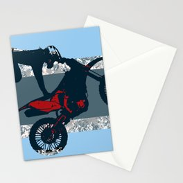 Flying Freestyle Moto-x Champ Stationery Cards