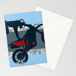 Flying Freestyle Moto-x Champ Stationery Cards