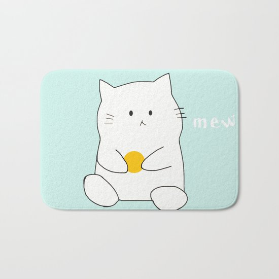 cat-359 Bath Mat