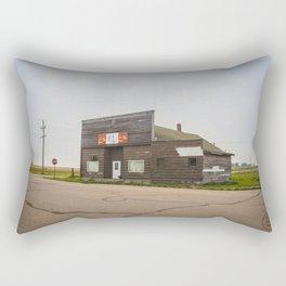 General Store, Regan, North Dakota 1 Rectangular Pillow