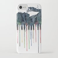 piano iPhone & iPod Cases featuring Piano by Veronika Neto