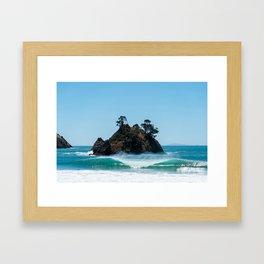 Coromandel Peak Framed Art Print