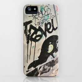 Pray that the Road is Long iPhone Case