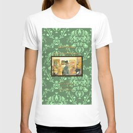 Sherlock Ferret and the Multiplying Masterpieces (cover) T-shirt