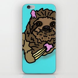 Naughty Sloth iPhone Skin