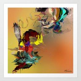 Emanative Art Print