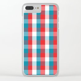 Fourth of July Clear iPhone Case