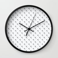 pizza Wall Clocks featuring Pizza by annies