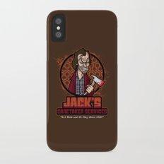 Jack's Caretaker Services Slim Case iPhone X