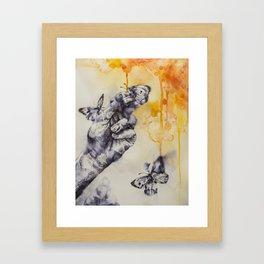 Swarmed Framed Art Print