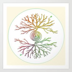 Tree of Life in Balance Art Print