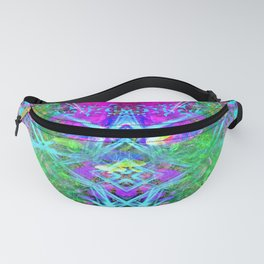 Third Eye Fruition (Green Glow) Fanny Pack