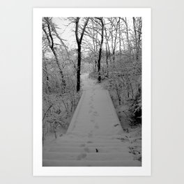 The Path Once Traveled Art Print