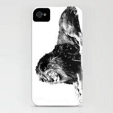 Lion Pen Strokes Slim Case iPhone (4, 4s)