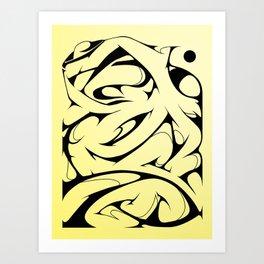 Morph Art Print