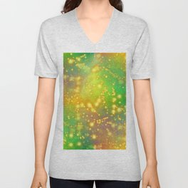 Out Of This World Abstract Unisex V-Neck