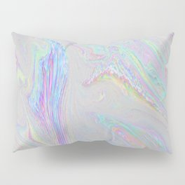 Long Time No See - Static/Glitch Pattern Pillow Sham