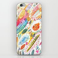 bugs iPhone & iPod Skins featuring Bugs by Mia Dunton