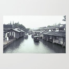 China Wuzhen Water Town Rug
