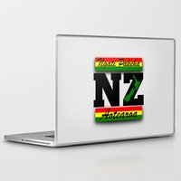 new zealand Laptop & iPad Skins featuring New Zealand  by mailboxdisco