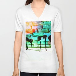 Florida Beach Unisex V-Neck
