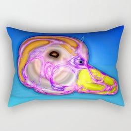 Small brain, big trap ... Rectangular Pillow